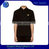 New Trendy High Quality Men Cotton Short Sleeve Simpleness Stock Lapel Polo T shirts