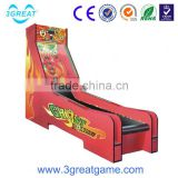 Best sale interesting amusement bowling machine for game city