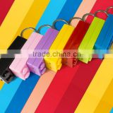 2016 Colorful Block Key Rings Trinket LED Light Voice Keychain Toy Brick Key Holder For Child Keyring Finder Kids