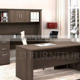 Melamine wooden desk bookcase combination working office table (SZ-OC362)