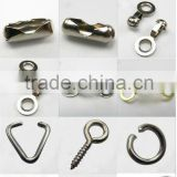 Fashion metal jewelry ball and chain connectors