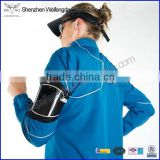 Hot sale factory supply sports running black armband for iphone