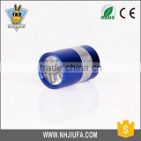 New products Promotion aluminium led flashlight,push button cylindrical blue 6 LED flash light,small flashlight torch
