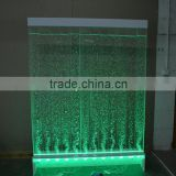 factory direct new house decorative acrylic LED water bubble wall can change different colors