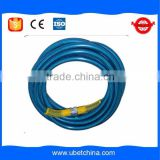 2016 Alibaba DN8 SAE100R1AT for car washer high pressure wire braided blue transparent water line rubber hose