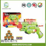 Eva gun bo toy guns electric soft bullet gun with music and light,electronic shooting target