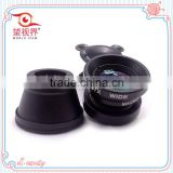 Universal optical lens 3 in 1 fish eye Wide Angle Lens Macro Mobile Phone camera Lens photo Kit Set for iPhone