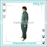 Disposable protective cloth Coverall,disposable coverall manufacturer,Disposable Breathable Film Coverall