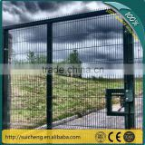 Guangzhou factory Plastic PVC coated Garden fence gate/ modern fence gate/gate designs