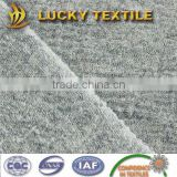 Hatha grey thin boiled wool fabric with 50% wool