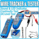 RJ11 RJ45 BNC Telephone Network LAN TV Cable Electric Wire Finder Tracker Tester