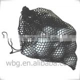 Small nylon mesh bags for golf balls