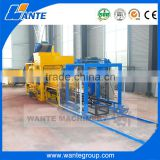 WANTE MACHINERY QT4-18 fully automatic complete hollow stabilized soil block making machine