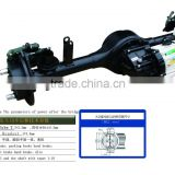 rear axle for passenger e bike , electric rickshaw differrentials differrent type 130 160 DISC brake