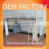 environmental-friendly metal bunk beds with ladder