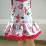 baby clothes wholesale price girls floral printed dress summer dresses for kids