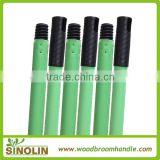 SINOLIN 120x2.2cm colorful powder PVC coating iron mop poles, metal mop pole, iron broom pole