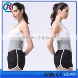 As seen on tv durable exercise slimming elastic back waist brace waist support belt to correct posture