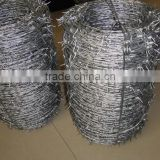 Hot dipped galvanized weight of barbed wire price per roll,barbed wire