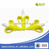 Babymatee Wholesale Funny Baby Banana Teether Toothbrush Colorful Baby Pacifier Manufacturer
