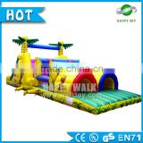 Customized inflatable obstacle toy, inflatable water obstacle course,inflatable motorized water toy