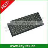 IP68 Medical ruggedized keyboard numeric keypad and function keys