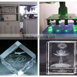 Eulogized Technical Crystal Souvenirs Mass Production Laser Engraving Machine (Hot Sales)