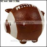 custom 8 inch football piggy banks,no hole unopenable piggy banks baby toys