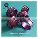 2016 year 16colors 8mm*10.5cm aluminium ring for pigeon pigeon ring band 2015 pigeon leg ring