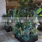 Restaurant Landscape Plants Artificial Various Types Of Ornamental Plants