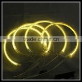 4300k yellow car led angel eyes headlight ring ccfl angel eyes kits for bmw e46 coupe facelift non xenon projector ccfl ring 12v