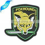 Custom Rubber Patch/ Soft PVC sew patch/ 3D PVC patch                                                                         Quality Choice