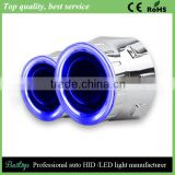 Top Quality Universal Optical led angel eyes Hid bi-xenon bulbs headlight projector lens h7