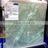 SGP safety laminated glass, safety building glass, the glass will not fall after broken, tempered Glass,