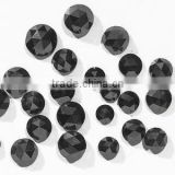 natural loose black diamond round rose cut from diamond manufacturer India