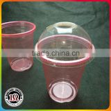 12oz Disposable Plastic Cups With Dome Lids                                                                         Quality Choice