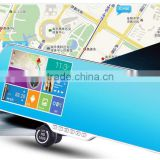 wifi wireless Android Car DVR Video Recorder Monitor With Anti-glare Mirror Touch Screen WIFI GPS Navigation Rear bakcup Camera