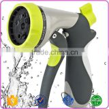 Wholesale High Pressure Kirsite 8 Pattern Car Front Trigger Wash Water Spray Cleaning Nozzle