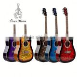 41 inch Decal Acoustic Guitar 5 colors