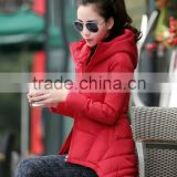 woman american clothing full package apparel manufacturers, green ladies elegant down jackets and coats