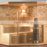 New Arrived Best Selling 8 People Traditional Saunas Both Commercial and Home Steam Sauna Cabin