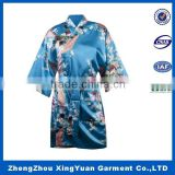 Low MOQ super soft kimono waffle weave bath robe,fancy satin bathrobe,women towel bathrobe