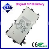 Hot Selling Paypal Accepted SP3770E1H N5100 Battery For Samsung Galaxy Note 8.0 7 Inch Android Tablet Original Battery