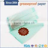 Food grade glassine kraft paper bag for cookie