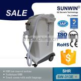 SW-313E latest invention SHR / OPT / ipl hair removal machine price laser epilator brown hair removal