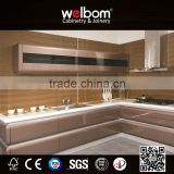 2016 Welbom American Standard Modern Kitchen Cabinets With Different Color