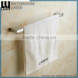 18724 hot sale new design zinc alloy wall mounted chrome bathroom accessory set towel bar