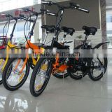 Japanese alloy folding electric bike 500W