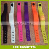 LED Wrist Watch - Silicone Rubber Gel Jelly Unisex Bracelet, Digital Band, Pantone colour
