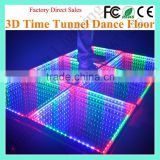 KTV Bar Wedding Night Club Party Tempered Glass Mirror Magic RGB Colorful 3D LED DanceFloor Light